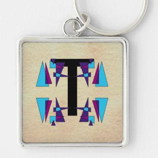 Alfabetos coloridos CricketDiane de los monogramas Llaveros Personalizados