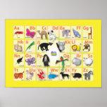 Alfabetos: Mi ABC con 26 animales Impresiones