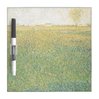 Alfalfa Fields Saint Denis by Georges Seurat Dry-Erase Whiteboard