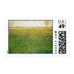Alfalfa Fields Saint Denis by Georges Seurat Stamps