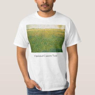 Alfalfa Fields Saint Denis by Georges Seurat T-Shirt