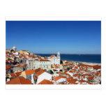 Alfama, Lisboa, Portugal Tarjetas Postales