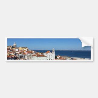 Alfama, Lisbon, Portugal Bumper Sticker