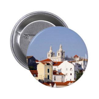 Alfama, Lisbon, Portugal Button