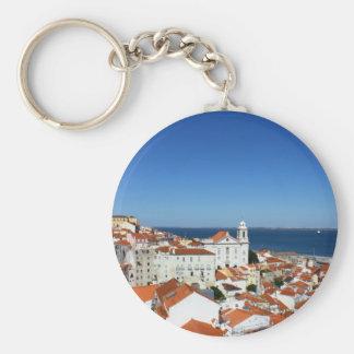 Alfama, Lisbon, Portugal Keychain