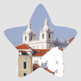 Alfama, Lisbon, Portugal Star Sticker