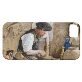 Alfarero Herman Kähler en su taller de L.A. Ring iPhone 5 Carcasas