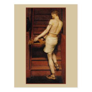 Alfarero romano de Alma-Tadema Tarjetas Postales
