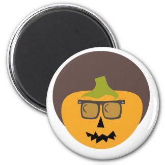 Alfie Afro Halloween Button Magnet