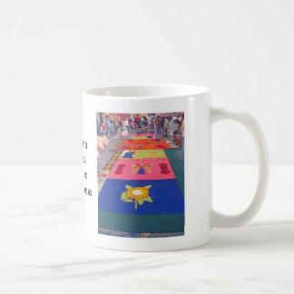 Alfombra 05 classic white coffee mug