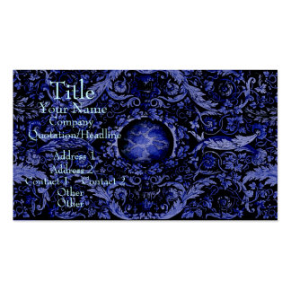 Alfombra 1 (azul) de Savonnerie Tarjetas De Visita