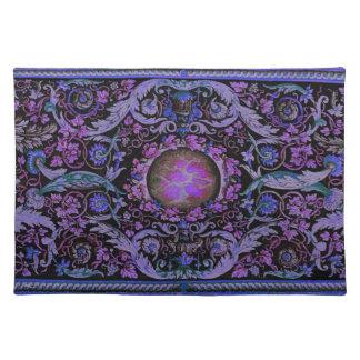 Alfombra 1 (púrpura) de Savonnerie Mantel Individual
