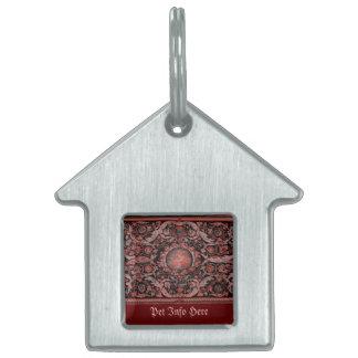 Alfombra 1 (rojo) de Savonnerie Placas De Mascota