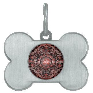Alfombra 1 (rojo) de Savonnerie Placas Mascota