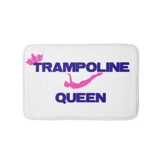 Alfombra de baño de la reina del trampolín