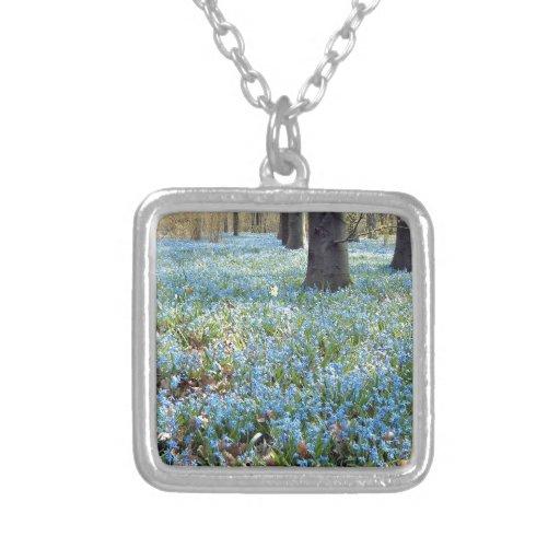 Alfombra de la primavera collar personalizado