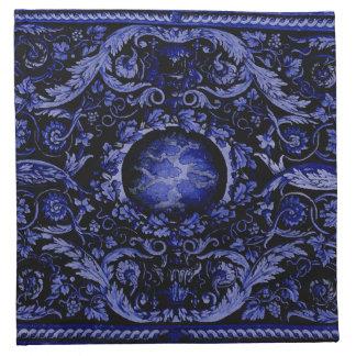 Alfombra de Savonnerie (azul) Servilleta