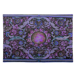 Alfombra de Savonnerie (púrpura) Mantel