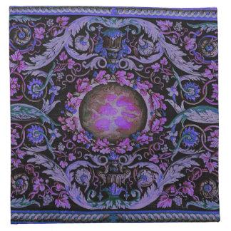 Alfombra de Savonnerie (púrpura) Servilleta