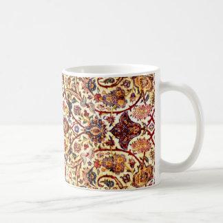 alfombra de seda taza clásica