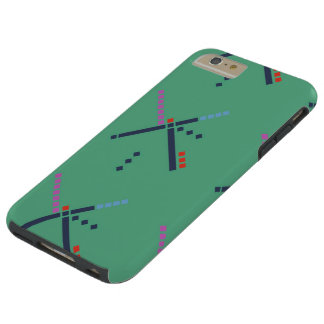 Alfombra del aeropuerto de PDX Funda Para iPhone 6 Plus Tough