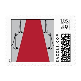 Alfombra del platino timbres postales