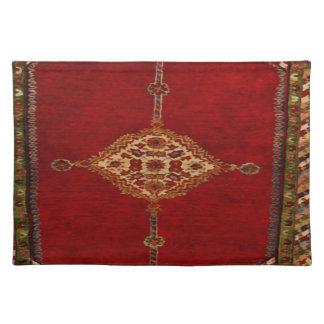 Alfombra persa - diseño intrépido mantel individual