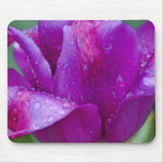 Alfombra ratón tulipán tapetes de raton