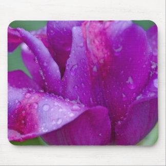 alfombra ratón tulipán tapetes de ratón