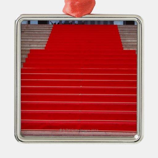 alfombra roja ornamentos de reyes
