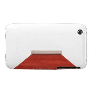 Alfombra roja parcialmente desenrollada funda bareyly there para iPhone 3 de Case-Mate