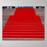 alfombra roja póster