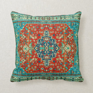 Alfombras antiguas de Serapi de Persia del Cojín Decorativo