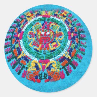 Alfombras de La Antigua 2 Classic Round Sticker