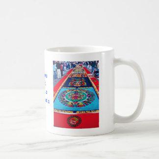 Alfombras de La Antigua 2 Classic White Coffee Mug