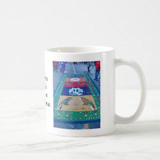Alfombras de La Antigua 8 Classic White Coffee Mug