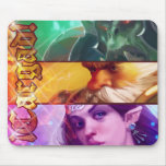 Alfombrilla banners fantasía Cargad Mousepad