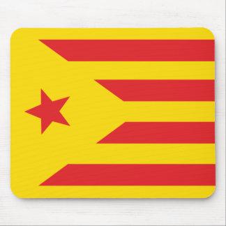 """Alfombrilla de ratón Bandera Catalana """"Serenya """""""