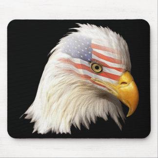 Alfombrilla de ratón con águila y bandera U.S.A-M1