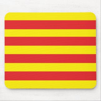 """Alfombrilla de ratón con bandera Catalana """"Serenya"""