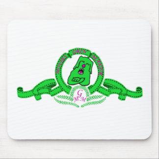 Alfombrilla de ratón de Grin el perrito verde Mouse Pad