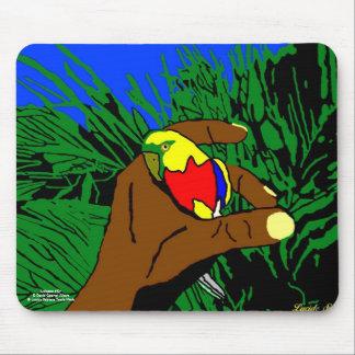"""Alfombrilla de ratón """"el Pájaro de Oro """""""