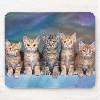 alfombrilla de ratón gatos