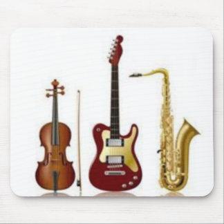 Alfombrilla de ratón insgtruments de música