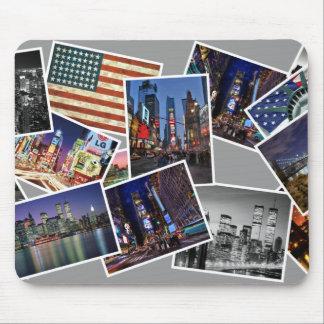 alfombrilla de ratón Nueva York utilizó foto color
