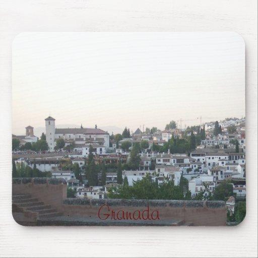 alfombrilla paisaje Albaicín Granada España Mousepads