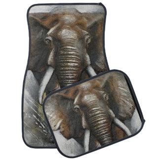 Alfombrillas de auto de carga del elefante alfombrilla de auto