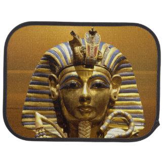 Alfombrillas de auto de rey Tut de Egipto fijadas Alfombrilla De Auto