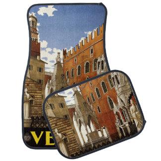 Alfombrillas de auto del coche de Verona Italia Alfombrilla De Auto