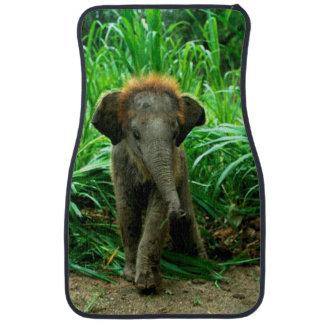 Alfombrillas de auto del elefante (frente) (fije alfombrilla de auto